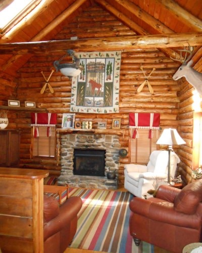 How NOT To Decorate A Log Cabin