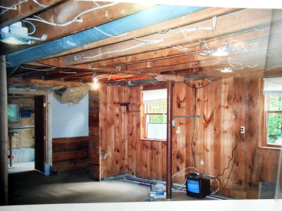 log cabin decor, ceiling makeovers