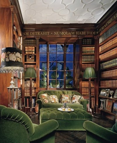 green library, choosing colors for your home