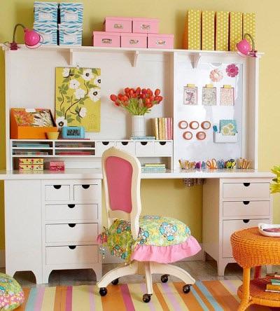 Ten Great Craft Room Organizing Ideas