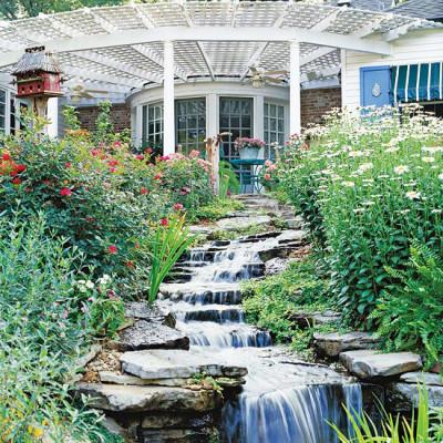 romantic gardens, romantic garden designs