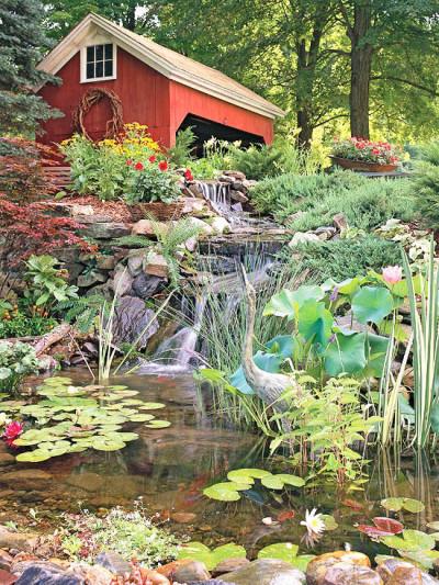 rustic garden design
