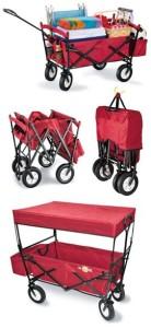 flea market wagon