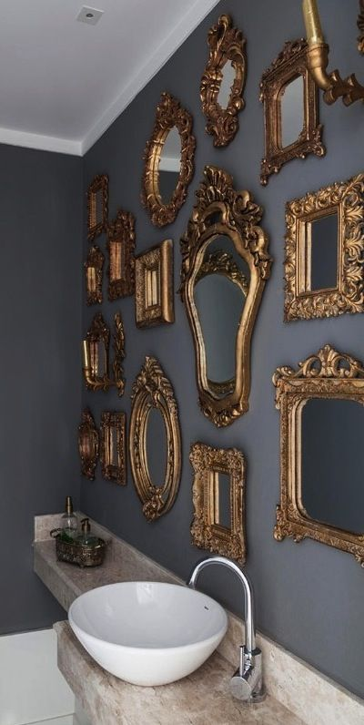 layered mirrors