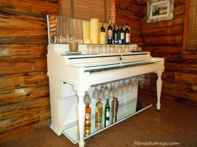 painted piano bar