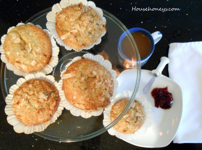 banana muffins. what to do with your ripe bananas