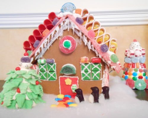 This Year's Gingerbread House