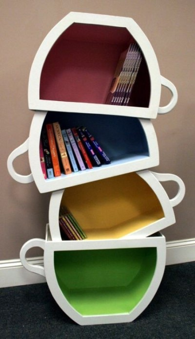 Really Cool and Interesting Shelving