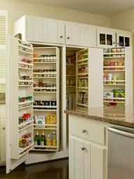 built in pantry
