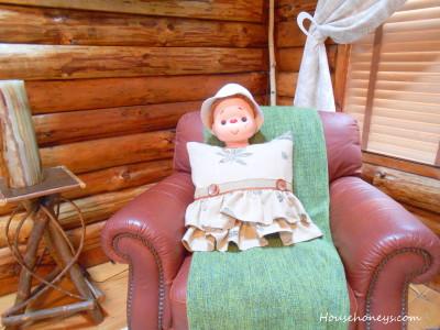 log cabin decor
