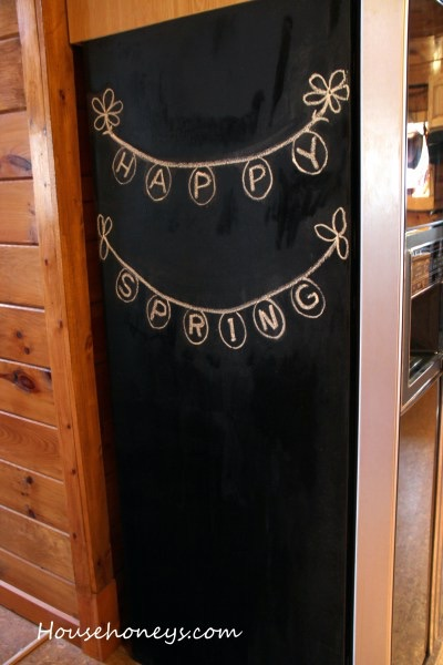 How to Clean a Chalk Board Painted Surface