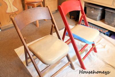 folding chair redo