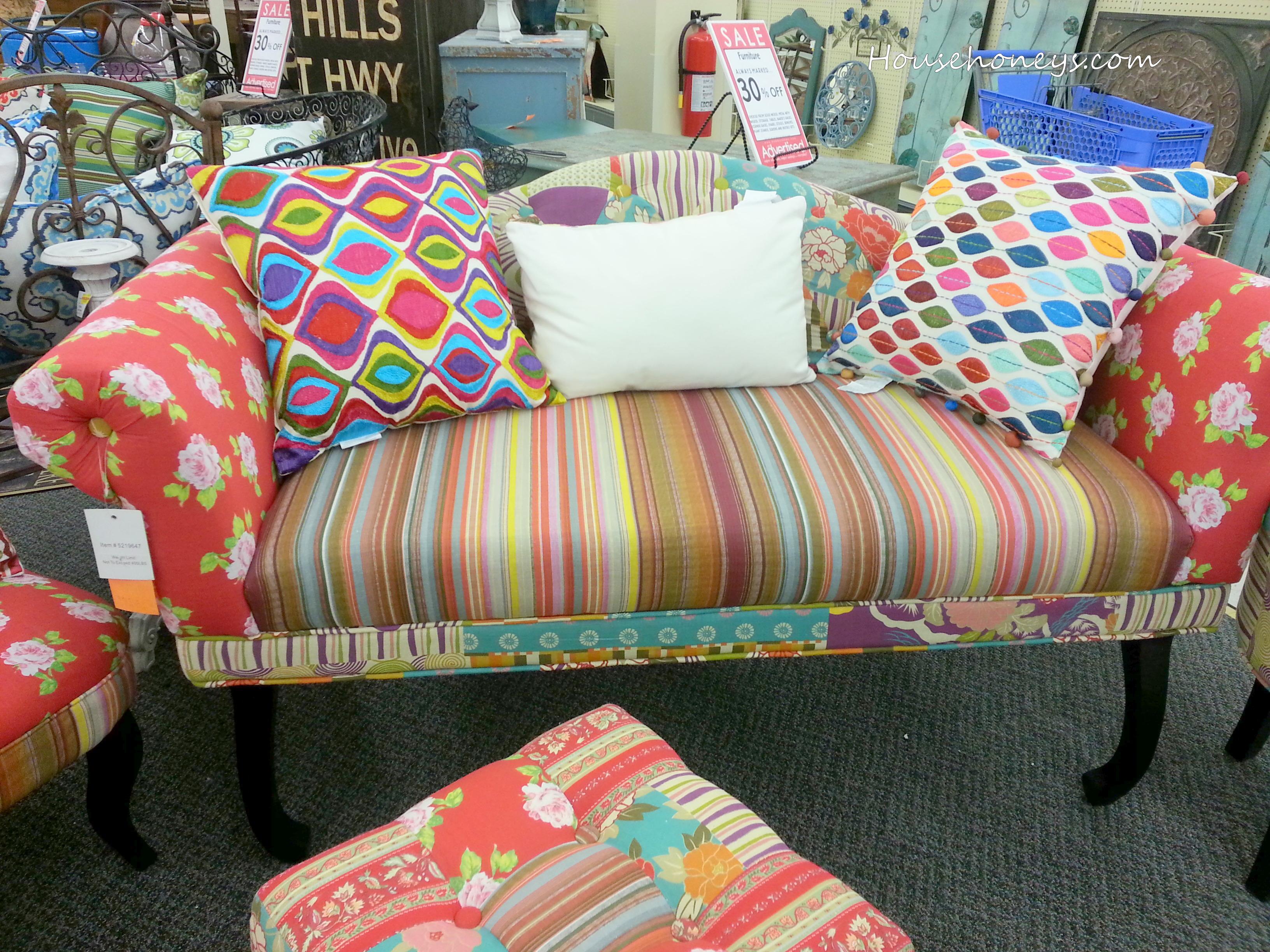 Colorful Sofa · Hobby Lobby Living Toom