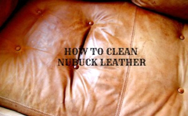 nubuck leather cleaning