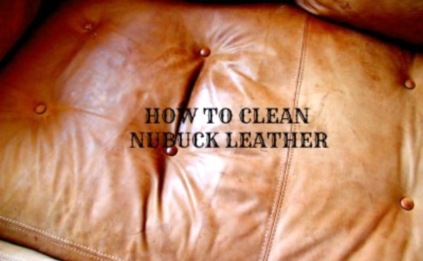 how to clean nubuck leather shors