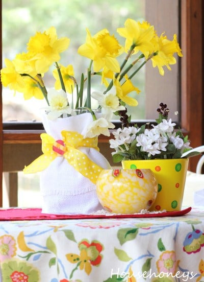 Some Spring Tablescapes
