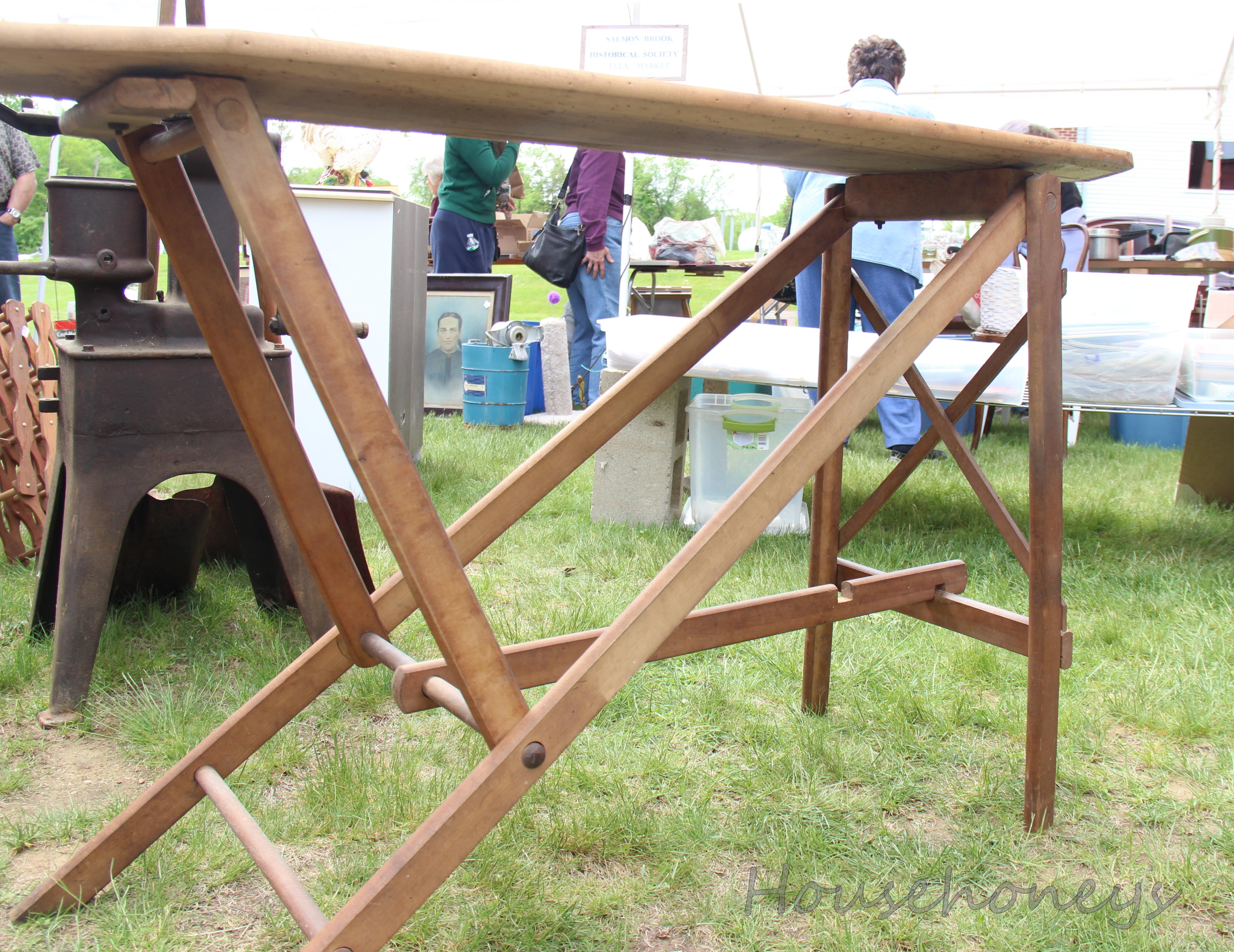 Wooden Ironing Board Antique - Best 2000+ Antique decor ideas