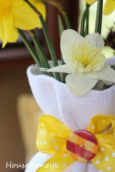 Monthly Blog Hop & Easy Mother's Day Vases