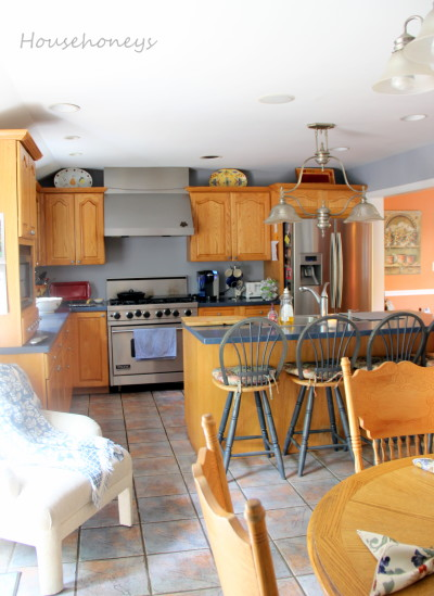 redoing oak cabinets