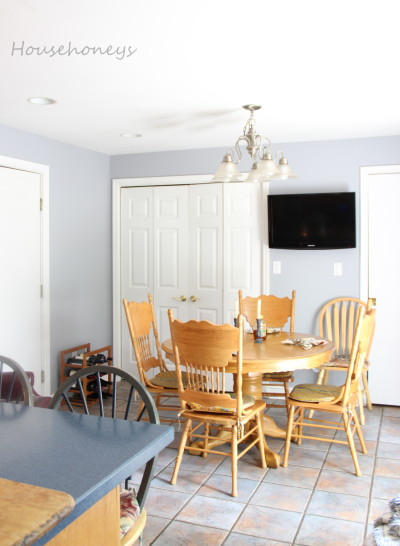country kitchen modernized