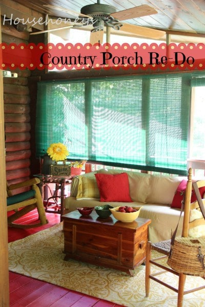 A Sneak Peek At The Porch