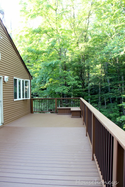 how to save money building a deck