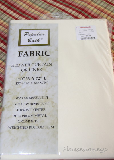 shower curtain for drapes
