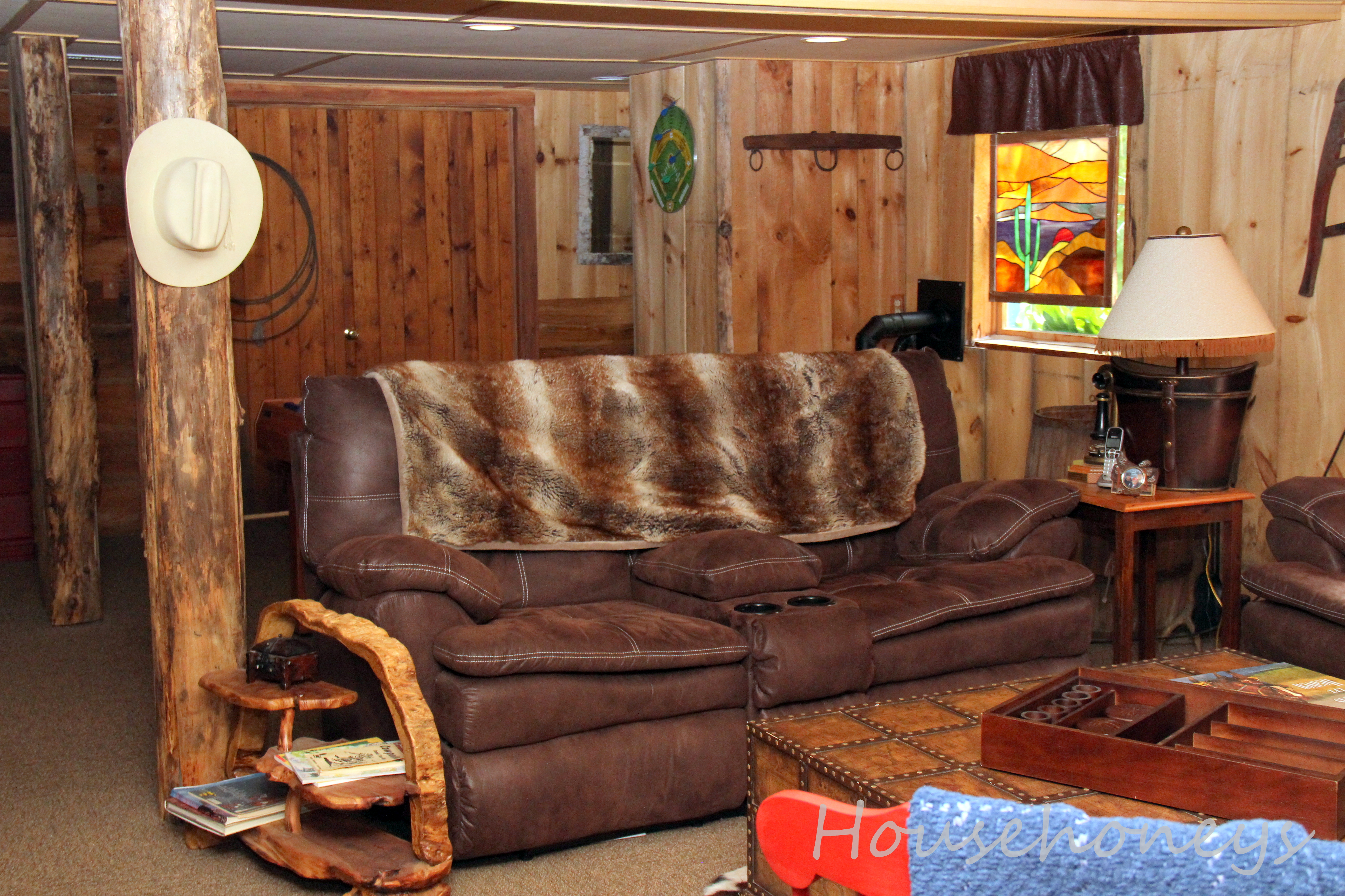 Rustic Themed Man Cave : Rustic decorating western themed rooms man caves fox