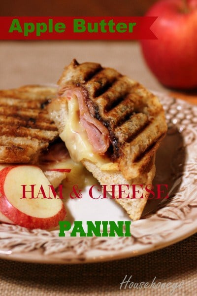 Apple Butter Panini