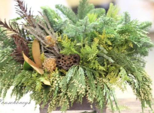 Nature Inspired Holiday Decorations