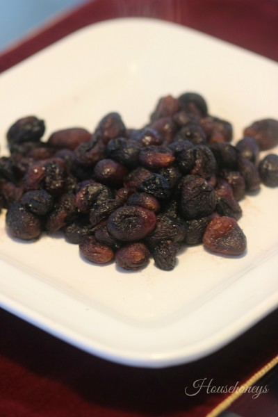 grapes cooked