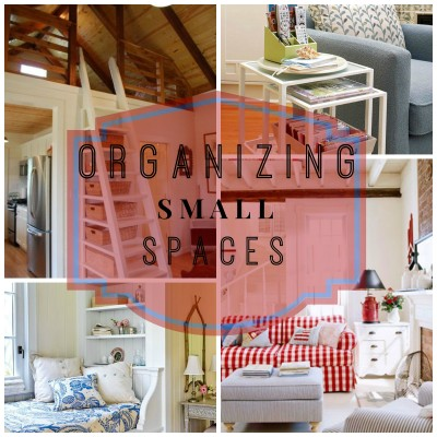 Small space organizing | Fox Den Rd