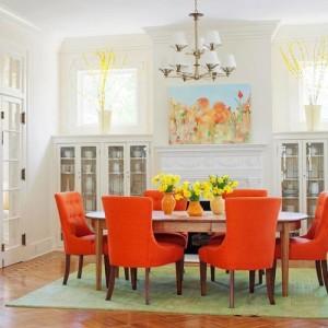 Orange rooms