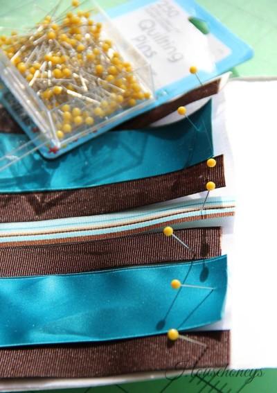 woven ribbon bag