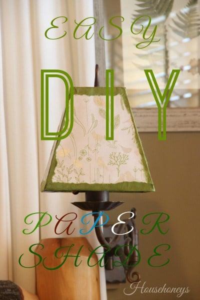 paper lampshade