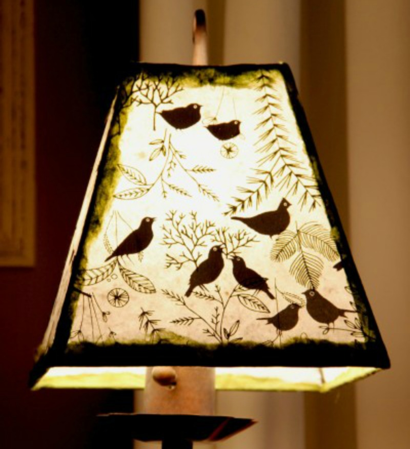 EASY DIY PAPER LAMP SHADE