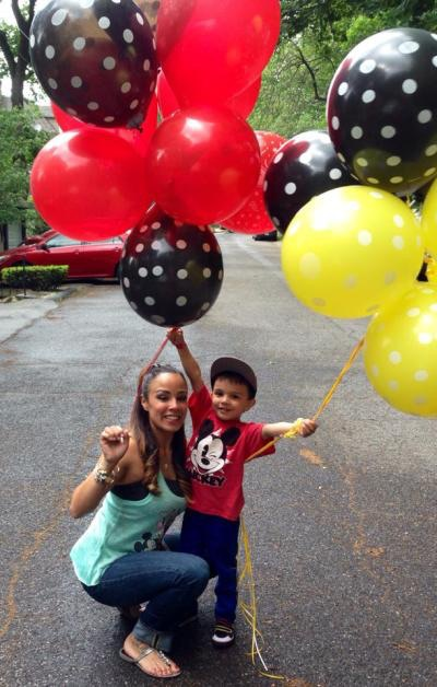 A Mickey Mouse Themed Party!