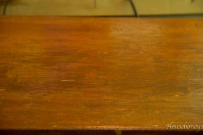 rustic dresser top