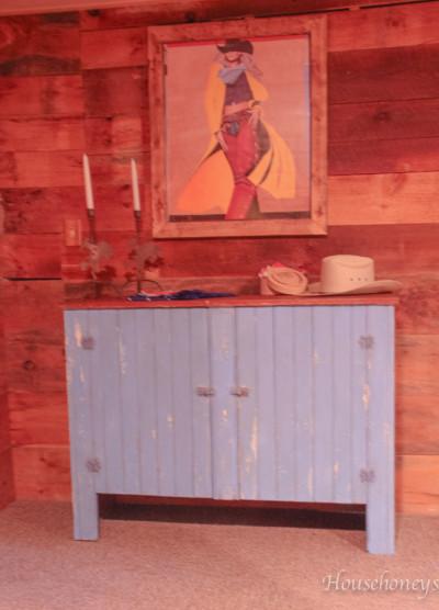 rustic dresser