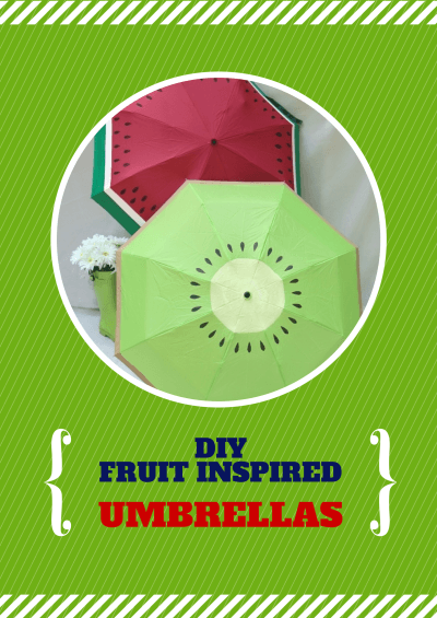 FRUIT INSPIRED UMBRELLAS