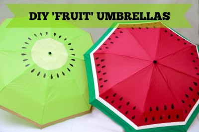 fruit umbrellas