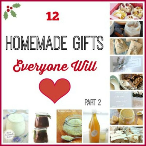 12 Easy and Delicious Homemade Edible Gifts