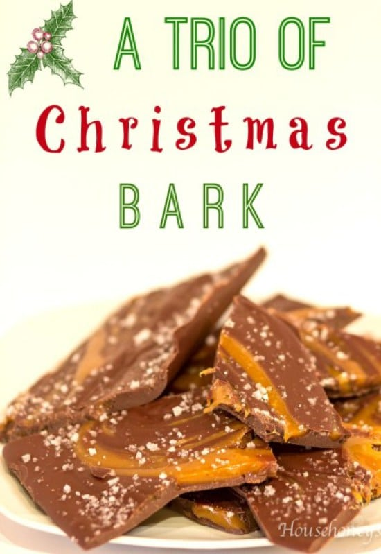 A Trio of 'Christmas' Bark