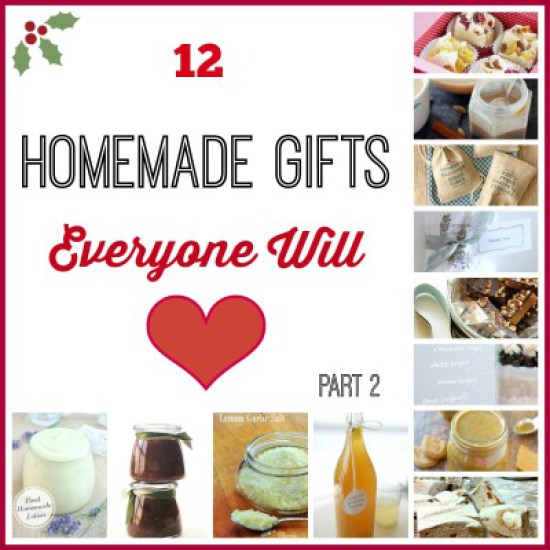 Easy Homemade Holiday Gifts-Part 2