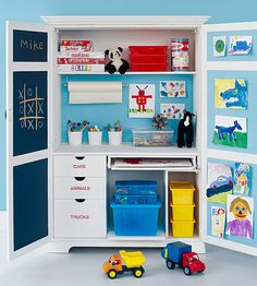 armoire toy storage