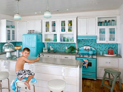 Kitchen Design Vintage Style vintage kitchen. 10 ways to create a colorful, vintage-style