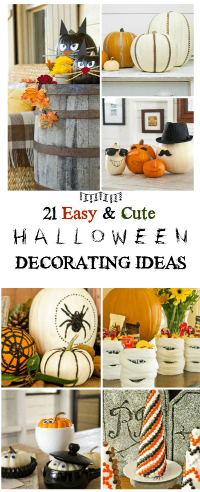 Halloween Food & Decorating Ideas