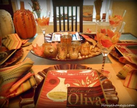 Autumn Tablescapes