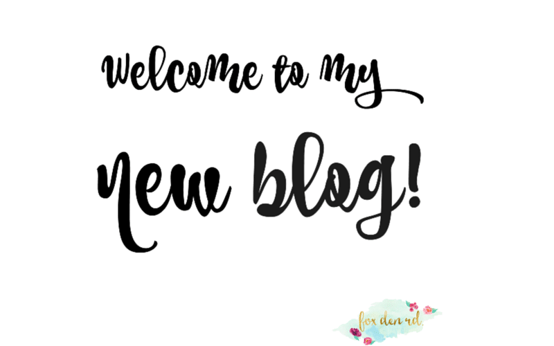 My New Blog Is Finally Ready!