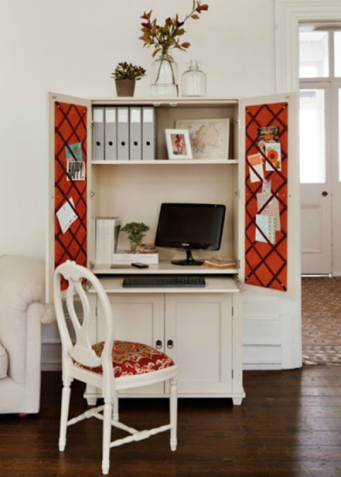 Using Armoires As A Home Office